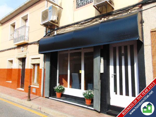 Infinity Restaurant, Hondon Valley
