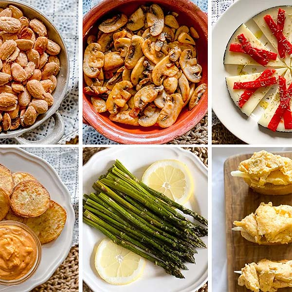 6 easy to cook Spanish Tapas Dishes
