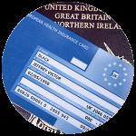 Sample EHIC Card