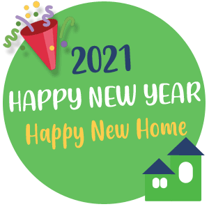 happy New year in 2021 from Hondon Villas, Spain