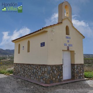The Ermita Church in Hondón de los Frailes, Spain.
