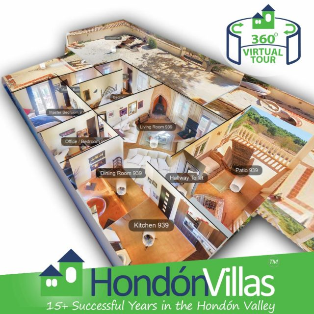 Hondon Villas trying out 360 Virtual Tours to help Covid restricted buyers.