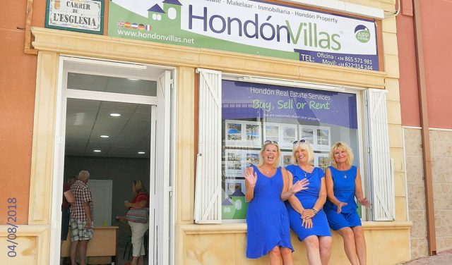 Welcome to the NEW Hondon Villas office!