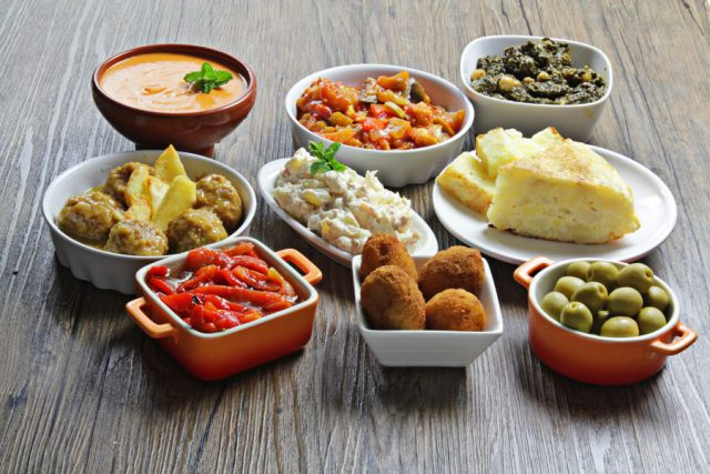 The Mediterrean Diet - Tapas!