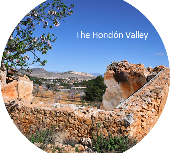 The Hondon Valley, Spain