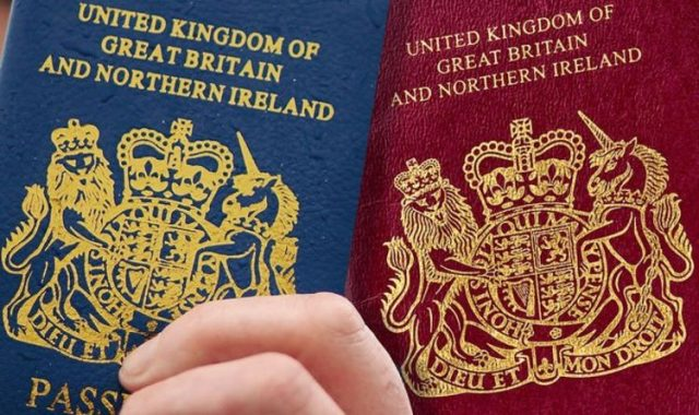 UK Passport Post Brexit