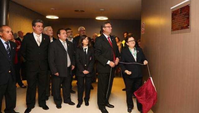 Opening Frailes Auditorium