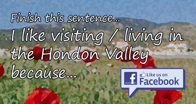 Living in the Hondon Valley